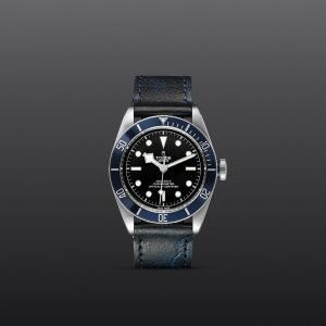 Tudor Black Bay Fifty-Eight | Blue leather strap | Rob Engström
